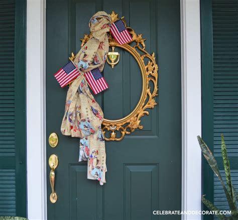 framed art diy decorating for july 4th celebrating holidays fourth of july diy wreath celebrate decorate