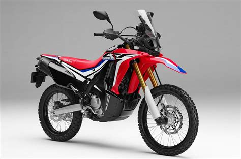 new 2017 honda crf250 rally unveiled at eicma adv pulse