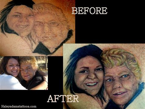 cover up fix tattoo before and after portrait tattoo by