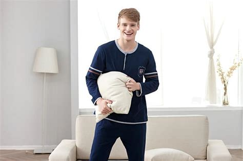 fashion comfortable sleepwear 100 cotton casual home wear