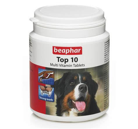 vitamins for puppies beaphar top 10 multi vitamin 60 tablets for dogs ebay
