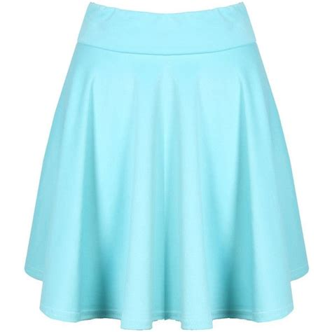 light blue skater skirt 1000 images about polyvore on t shirts