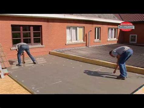 Epdm Firestone Geogard Waterproofing waterproofing a flat roof with firestone epdm rubber roof membrane