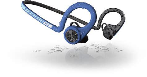 Plantronics Backbeat Fit Wireless Headphones Power Blue 206001 08 plantronics backbeat fit wireless in ear the neck