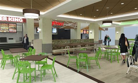 food court restaurant design atlanta airport food court mosaic design studio