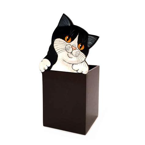porta gatto porta matite con gatto