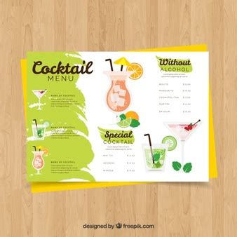 Tropical Vectors Photos And Psd Files Free Download Tropical Menu Template Free