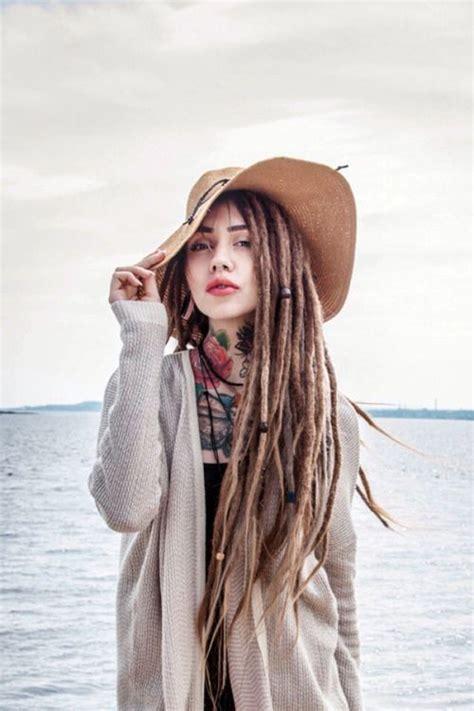 dreadlocks girl merry synthetic synthetic dreads hair best 20 synthetic dreads ideas on pinterest dreadlocks
