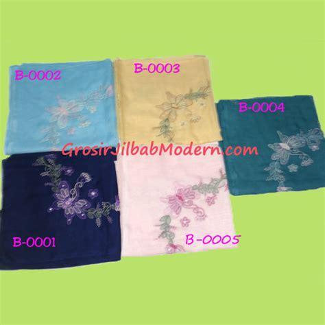 Jilbab Anak Murah Serut Kupu Kupu Biru 1 jilbab sulam bayangan motif kupu warna biru dongker