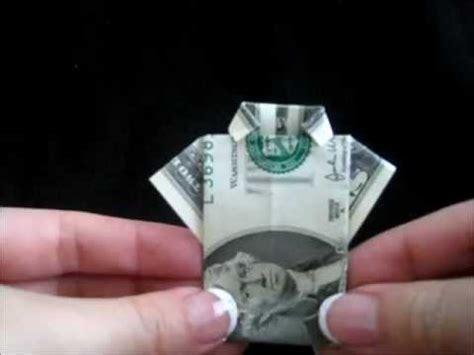 Dollar T Shirt Origami - origami dollar bill t shirt