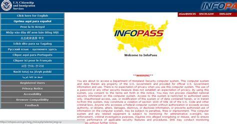 www infopass uscis gov home page home review