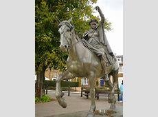 Fine Lady upon a white horse statue,... © Colin Park cc-by ... Colin