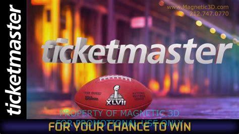Nfl Ticket Exchange Super Bowl Xlviii Sweepstakes - magnetic 3d super bowl xlvii nfl ticket exchange 174 3d digital signage content