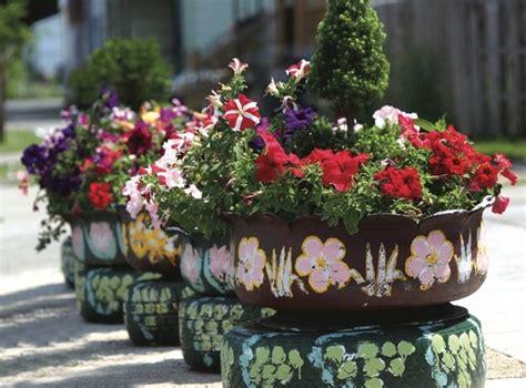 Diy Flower Garden Ideas 24 Creative Ways To Reuse Tires As A Garden Decoration
