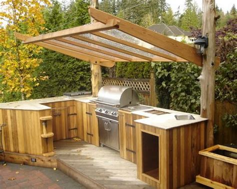 great ideas  cheap outdoor kitchen grill patio ideas
