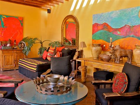 southwestern living space photos hgtv
