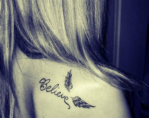 small angel wings tattoo small wings ink youqueen girly