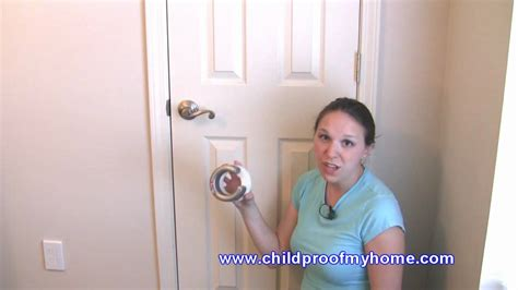 Lever Door Handle Child Lock by Childproofing Your Home Door Safety Lever Handle Lock