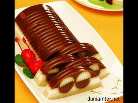 youtube membuat puding coklat resep dan cara membuat puding vanilla karamel coklat youtube