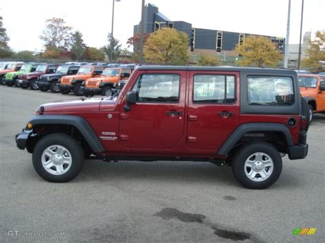 2013 Jeep Wrangler Colors 2013 Cherry Pearl Jeep Wrangler Unlimited