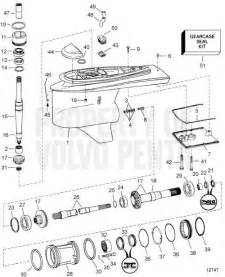 Volvo Penta Duo Prop Outdrive Diagram Volvo Penta Exploded View Schematic Lower Gear Unit Dp S