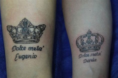 king and queen tattoo quotes top 74 couple tattoos for love birds