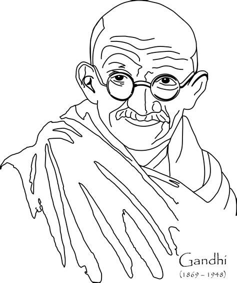 imagenes para dibujar sobre la paz dibujos de mahatma gandhi por el d 237 a de la no violencia y