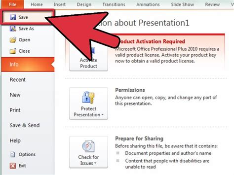 How To Reduce Powerpoint File Size 10 Steps With Pictures Reduce Powerpoint Template Size