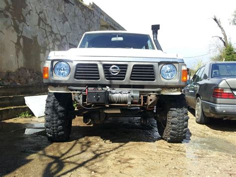 nissan patrol 1990 modified lebanonoffroad com for sale modified nissan patrol