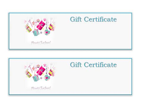 search results for cute gift certificate template