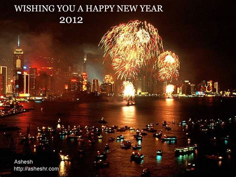 new year 2012 water happy new year 2012 ashesh s perso