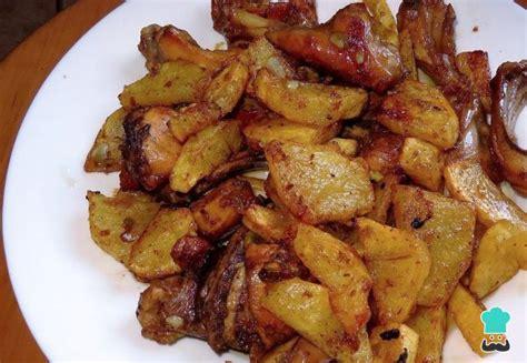 como cocinar un conejo al ajillo receta de conejo al ajillo con patatas fritas f 225 cil