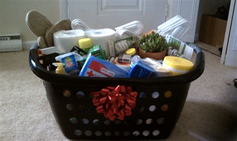 best housewarming gifts for first apartment home to you first apartment gift basket