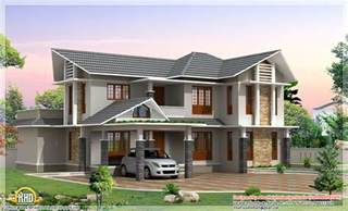 home design 3d gold two story 2420 sq ft double storey house kerala home design