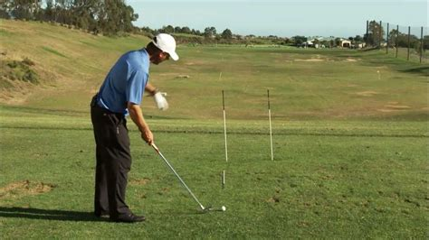 ideal golf swing path golf draw drills how the proper swing path and club face