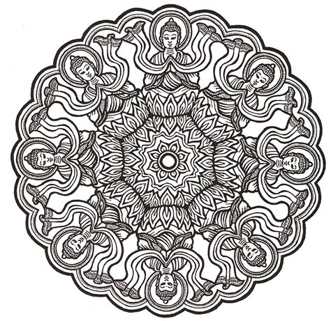 mandala coloring pages anxiety color me happiness mandalas for relaxation herbalshop