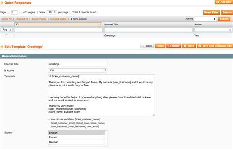 Magento Help Desk Mx Customer Support Module Ticket System Magento Helpdesk Extension Support Ticket Response Template