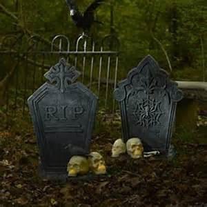 Tombstone Halloween Decorations Tombstones