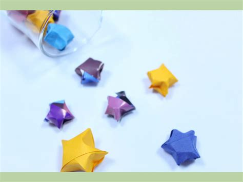 How To Make Paper Lucky - the gallery for gt how to make origami lucky