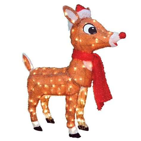 rudolph the red nosed reindeer 40510 32in 3d soft