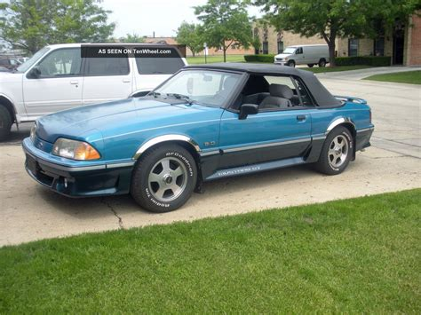 mustang gt 1989 1989 ford mustang gt colors