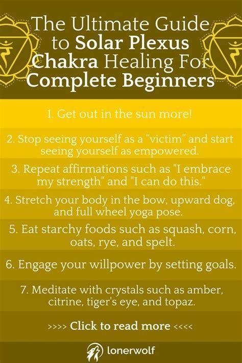 ultimate guide  solar plexus chakra healing