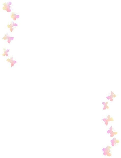 Mariposa En Word   bordes decorativos bordes decorativos de mariposas para