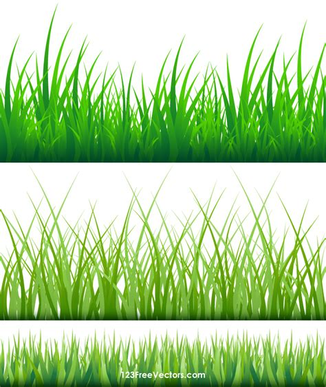 grass clipart free grass blades clipart 123freevectors