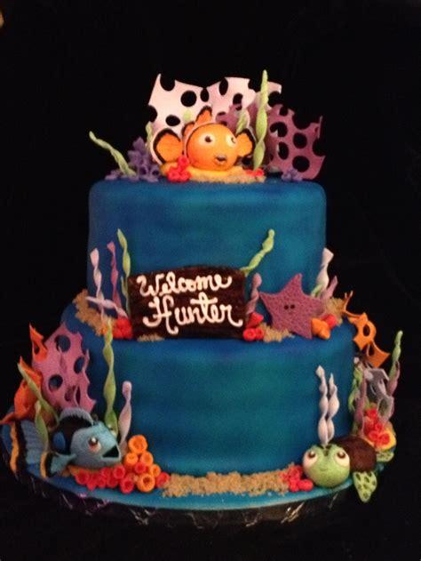 Nemo Baby Shower Cake by Nemo Baby Shower Cake Baby Bell