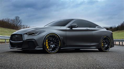 infiniti q 60 infiniti q60 project black s gets custom tires from pirelli