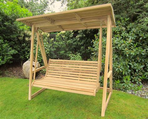 garden swinging bench outdoor patio furniture the teak tree nanaimo victoria