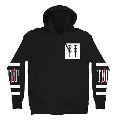 Hoodie Twenty One Pilot 1 1 official twenty one pilots hoodie hoody big athletic logo pullover all sizes ebay