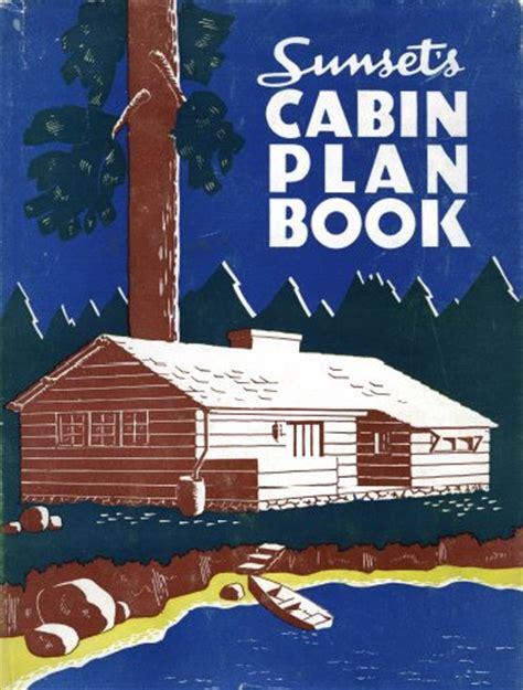 libro log cabin book a sunset log cabin plan book rare diy books ebay