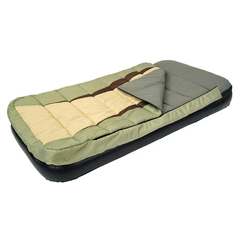 bed sleeping bag jilong adult combo air bed with integrated sleeping bag